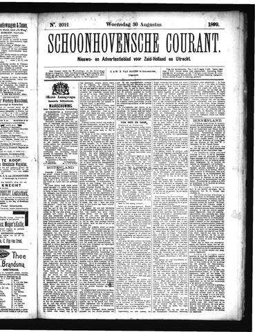 Schoonhovensche Courant 1899-08-30