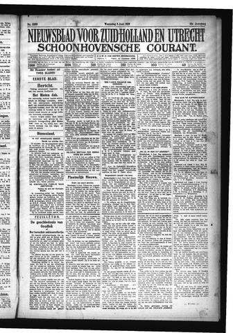 Schoonhovensche Courant 1929-06-05