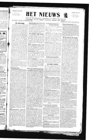 Schoonhovensche Courant 1945-06-15