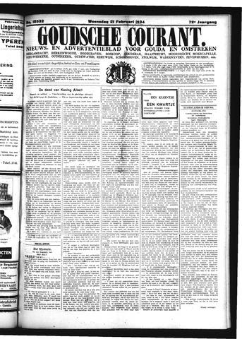 Goudsche Courant 1934-02-21