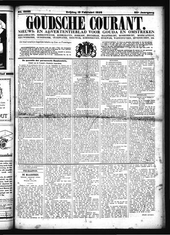 Goudsche Courant 1926-02-19