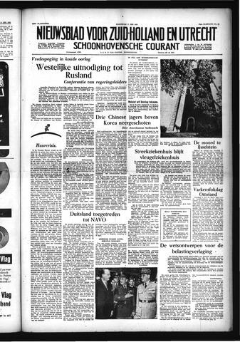 Schoonhovensche Courant 1955-05-11