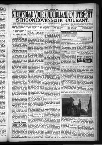 Schoonhovensche Courant 1928-11-02