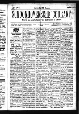 Schoonhovensche Courant 1899-03-11