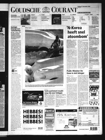 Goudsche Courant 2002-12-27