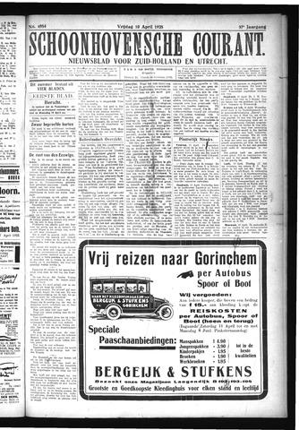 Schoonhovensche Courant 1925-04-10