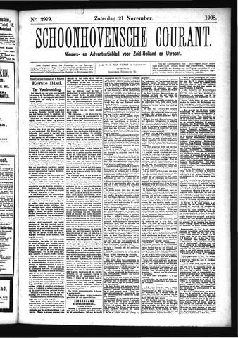 Schoonhovensche Courant 1908-11-21