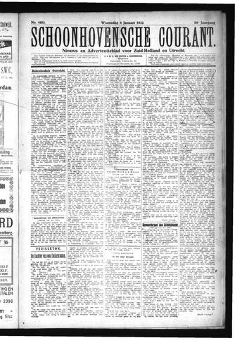 Schoonhovensche Courant 1922-01-04