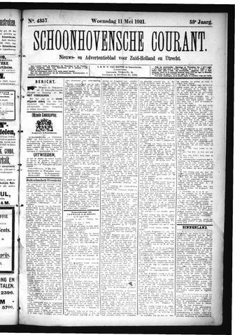 Schoonhovensche Courant 1921-05-11