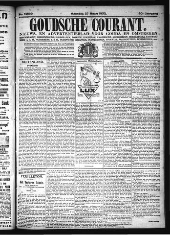 Goudsche Courant 1922-03-27