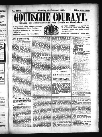 Goudsche Courant 1895-02-18