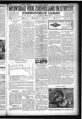 Schoonhovensche Courant 1932-09-16