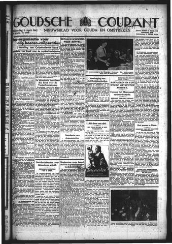 Goudsche Courant 1942-04-01