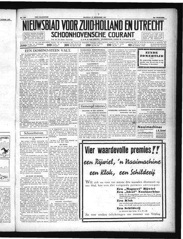 Schoonhovensche Courant 1937-09-27