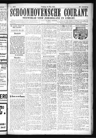 Schoonhovensche Courant 1924-05-23