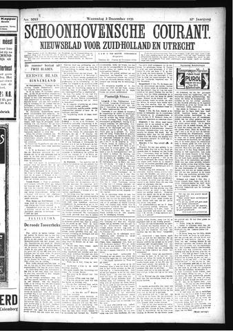 Schoonhovensche Courant 1925-12-02