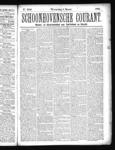 Schoonhovensche Courant 1895-03-06