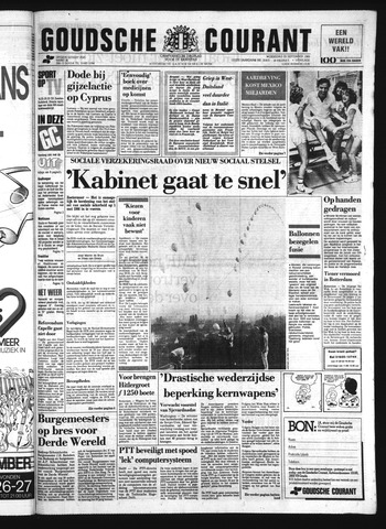 Goudsche Courant 1985-09-25