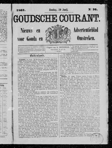 Goudsche Courant 1862-06-29