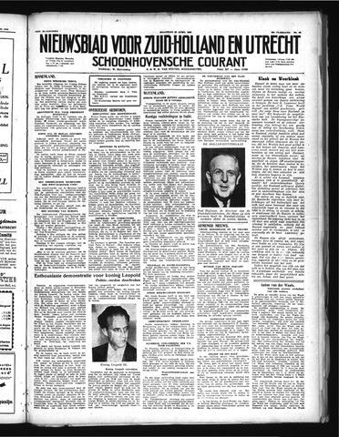 Schoonhovensche Courant 1948-04-19