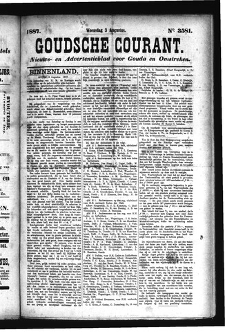 Goudsche Courant 1887-08-03