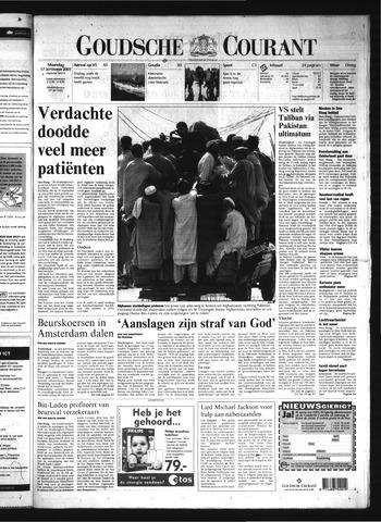 Goudsche Courant 2001-09-17