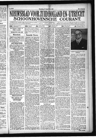 Schoonhovensche Courant 1928-09-12