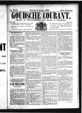 Goudsche Courant 1910-01-11
