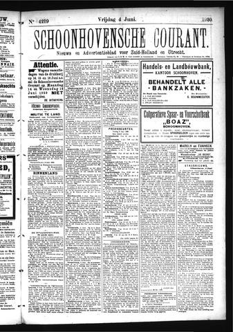 Schoonhovensche Courant 1920-06-04