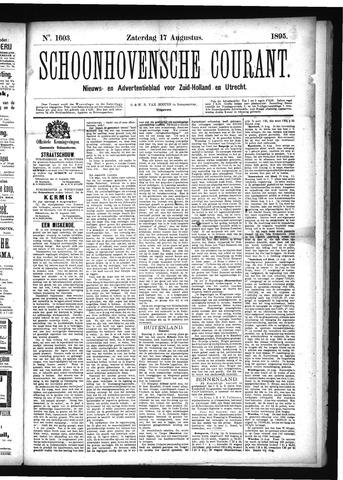 Schoonhovensche Courant 1895-08-17