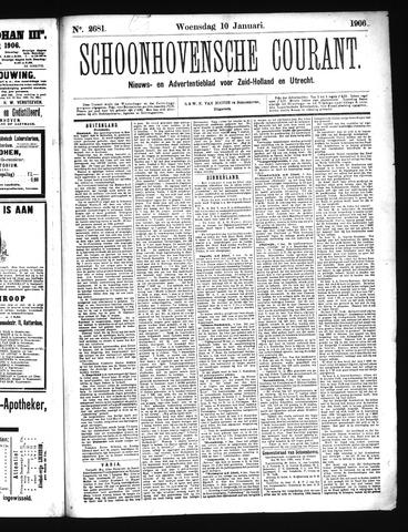 Schoonhovensche Courant 1906-01-10