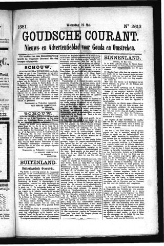 Goudsche Courant 1881-05-25