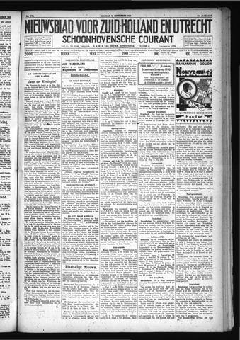 Schoonhovensche Courant 1930-09-12