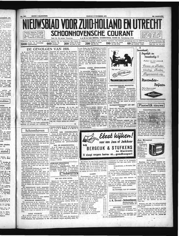 Schoonhovensche Courant 1937-11-12