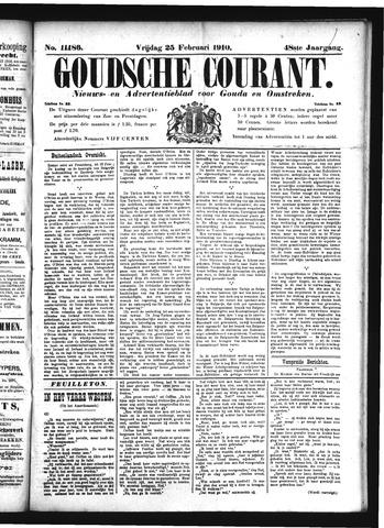 Goudsche Courant 1910-02-25