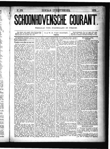 Schoonhovensche Courant 1876-09-17