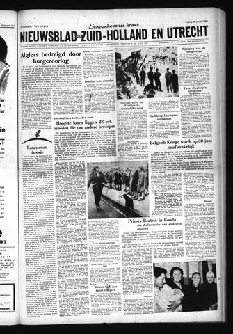Schoonhovensche Courant 1960-01-29