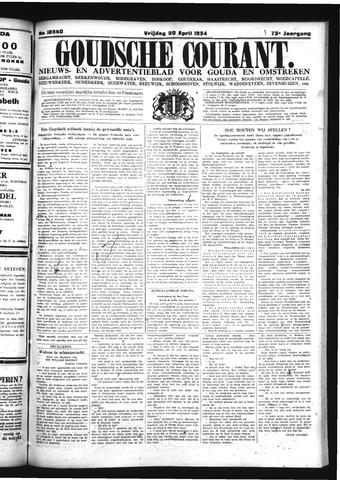 Goudsche Courant 1934-04-20