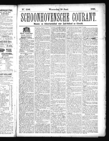 Schoonhovensche Courant 1895-06-19