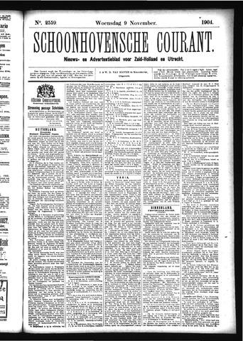 Schoonhovensche Courant 1904-11-09