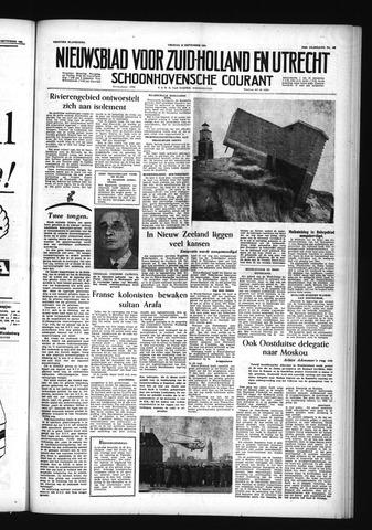 Schoonhovensche Courant 1955-09-16
