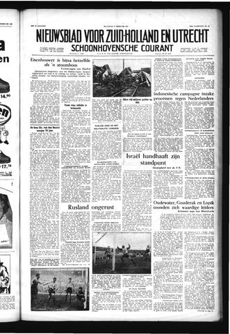 Schoonhovensche Courant 1957-02-11