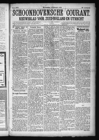 Schoonhovensche Courant 1926-02-03