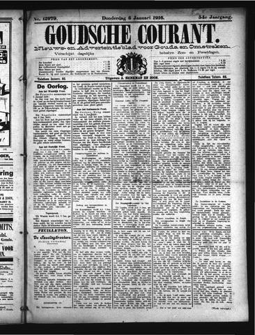 Goudsche Courant 1916-01-06