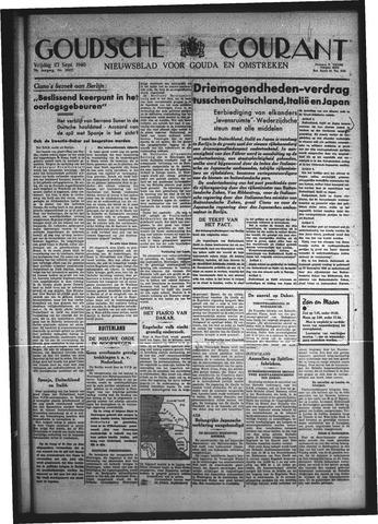 Goudsche Courant 1940-09-27