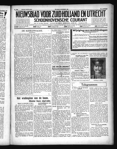 Schoonhovensche Courant 1935-12-20