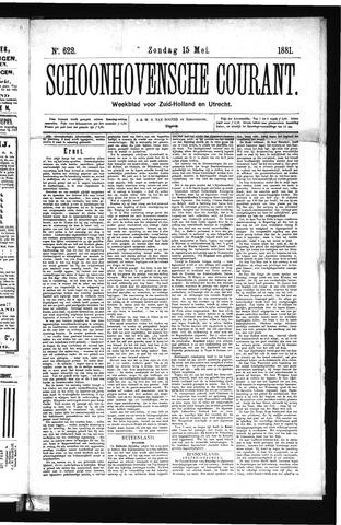 Schoonhovensche Courant 1881-05-15