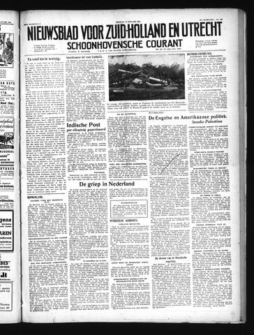 Schoonhovensche Courant 1949-01-14