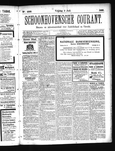 Schoonhovensche Courant 1920-07-02