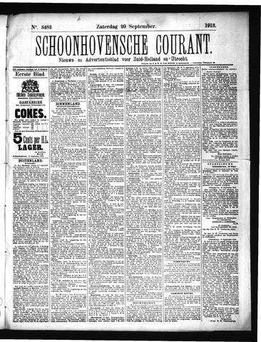 Schoonhovensche Courant 1913-09-20